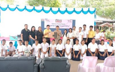 """Thai Solar Energy has organized an activity for society and community under the project name """"Pun Rak Pun Namjai from the Group to schools on the countryside #1"""""""