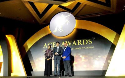 TSE received a prestigious award at ACES AWARDS 2018