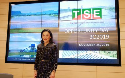 TSE attended in the Opportunity Day 3Q19 presenting net profits for 9 months of 560 MB growing up to 64%