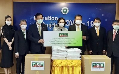 TSE donates 500 PPE for the Ministry of Public Health to fight the COVID-19